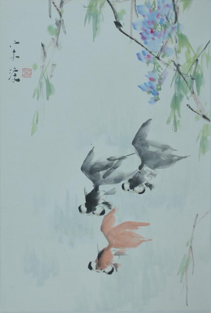 1960年投师李苦禅、许麟庐先生,学习写意花鸟。1963年考入北京艺术学院美术系,学习工笔花鸟、人物。1964年转入中央工艺美术学院,学习了素描、水彩、图案、装饰美术及室内设计等课程。1968年于中央工艺美术学院毕业。1970年至1980年在北京香山风景区工作,其间画了大量水墨和色彩风景写生;并得到李可染、张仃和白雪石先生的指导。1980年调中央工笔美术学院任教。1983年定级为中央工艺美术学院讲师。